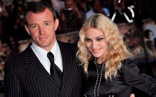 Guy Ritchie y Madonna un mes atrás